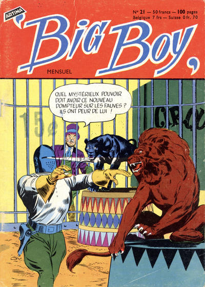 Cover for Big Boy (Arédit-Artima, 1956 series) #21