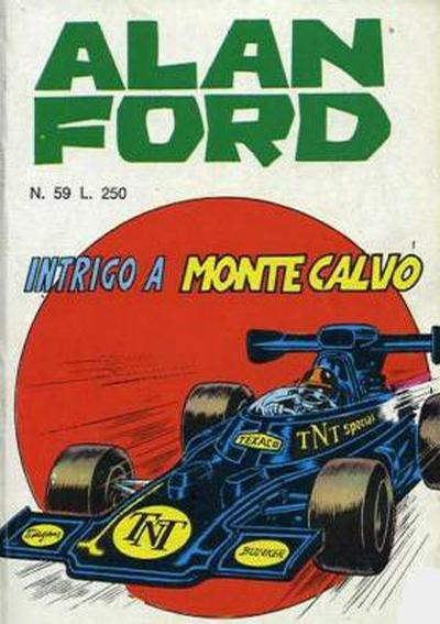 Cover for Alan Ford (Editoriale Corno, 1969 series) #59