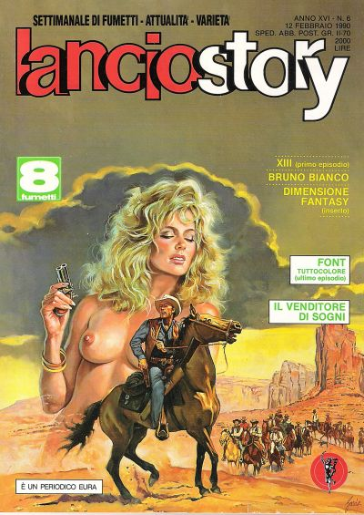 Cover for Lanciostory (1975 series) #vXVI#6