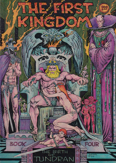Cover for The First Kingdom (Comics and Comix, 1974 series) #4