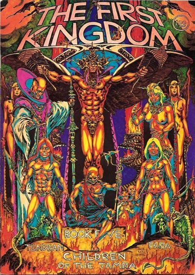 Cover for The First Kingdom (Comics and Comix, 1974 series) #5