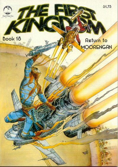 Cover for The First Kingdom (Bud Plant, 1975 series) #18