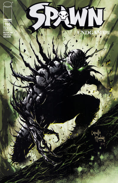 Cover for Spawn (Image, 1992 series) #190