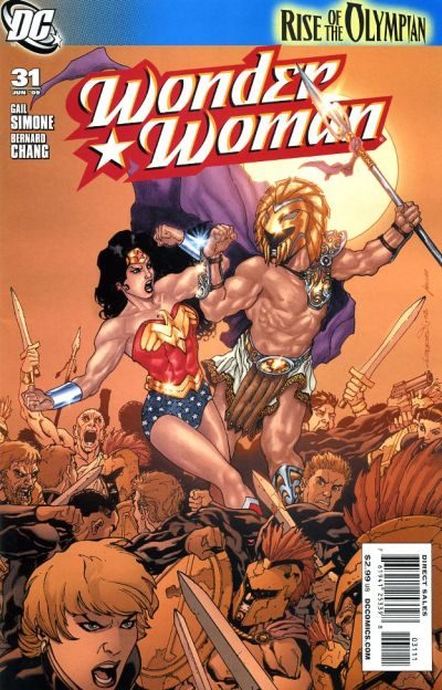 Cover for Wonder Woman (2006 series) #31