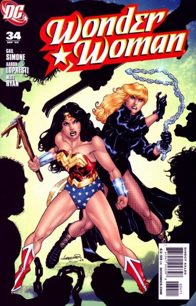 Cover for Wonder Woman (DC, 2006 series) #34
