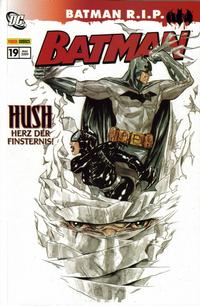 Cover Thumbnail for Batman Sonderband (Panini Deutschland, 2004 series) #19 - Hush: Herz der Finsternis