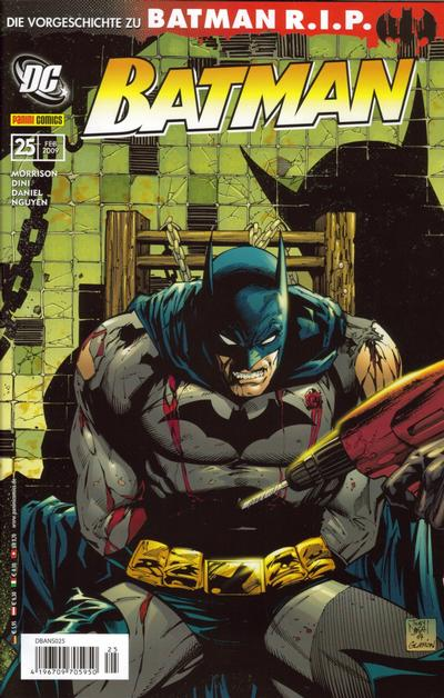 Cover for Batman (2007 series) #25