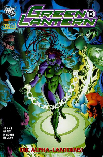 Cover for Green Lantern Sonderband (2006 series) #12