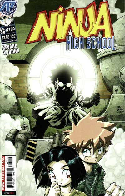Cover for Ninja High School (Antarctic Press, 1994 series) #160
