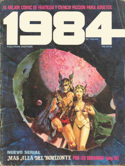 Cover for 1984 (Toutain Editor, 1978 series) #8