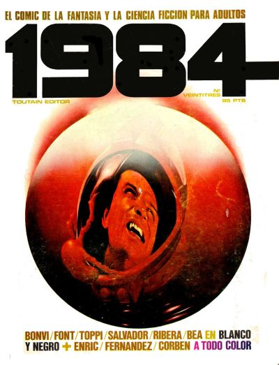 Cover for 1984 (Toutain Editor, 1978 series) #23