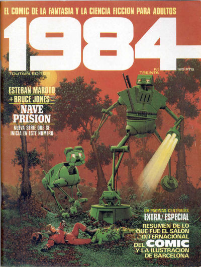 Cover for 1984 (Toutain Editor, 1978 series) #30