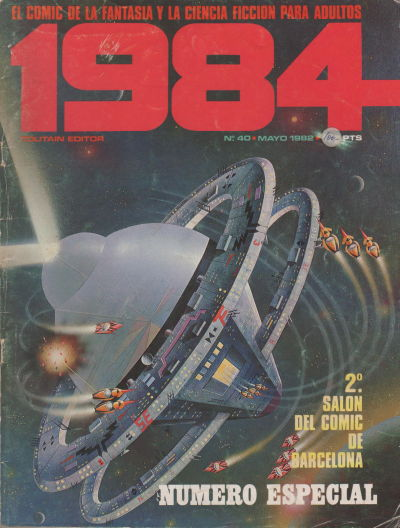 Cover for 1984 (Toutain Editor, 1978 series) #40