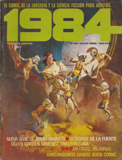 Cover for 1984 (Toutain Editor, 1978 series) #42