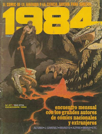 Cover for 1984 (Toutain Editor, 1978 series) #47