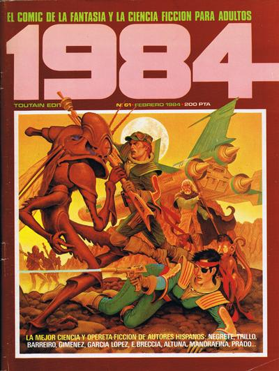 Cover for 1984 (1978 series) #61