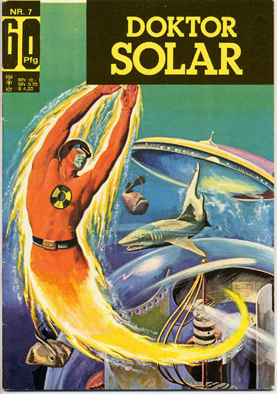 Cover for Doktor Solar (BSV - Williams, 1966 series) #7
