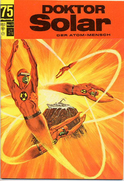Cover for Doktor Solar (BSV - Williams, 1966 series) #12