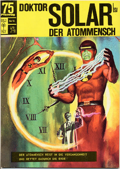 Cover for Doktor Solar (BSV - Williams, 1966 series) #15