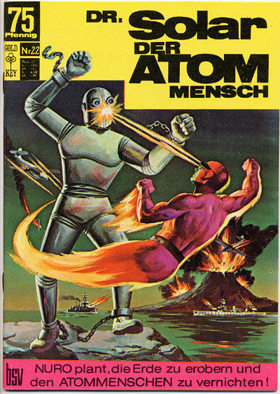 Cover for Doktor Solar (BSV - Williams, 1966 series) #22