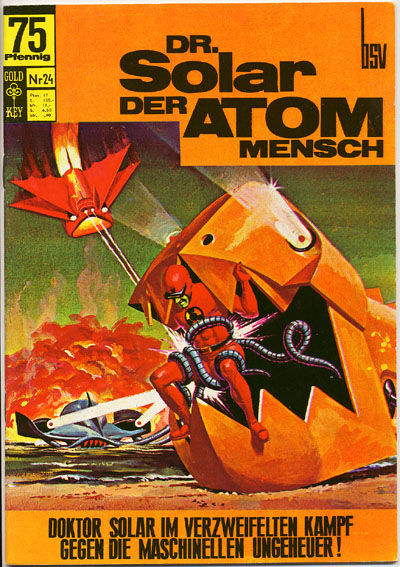 Cover for Doktor Solar (BSV - Williams, 1966 series) #24