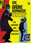 Cover for Die grüne Hornisse (BSV - Williams, 1968 series) #2