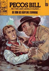Cover Thumbnail for Pecos Bill (BSV - Williams, 1971 series) #4
