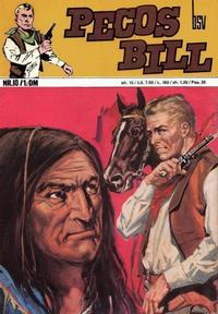 Cover Thumbnail for Pecos Bill (BSV - Williams, 1971 series) #10