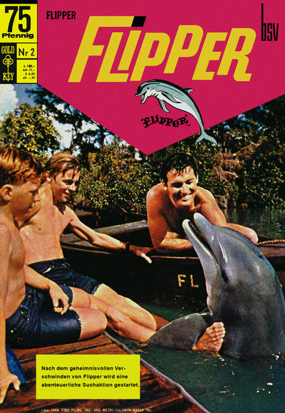 Cover for Flipper (BSV - Williams, 1969 series) #2