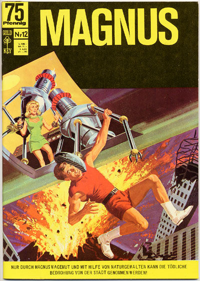 Cover for Magnus (1966 series) #12