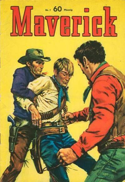 Cover for Maverick (BSV - Williams, 1965 series) #7