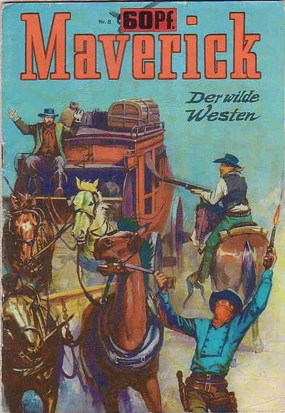 Cover for Maverick (BSV - Williams, 1965 series) #8