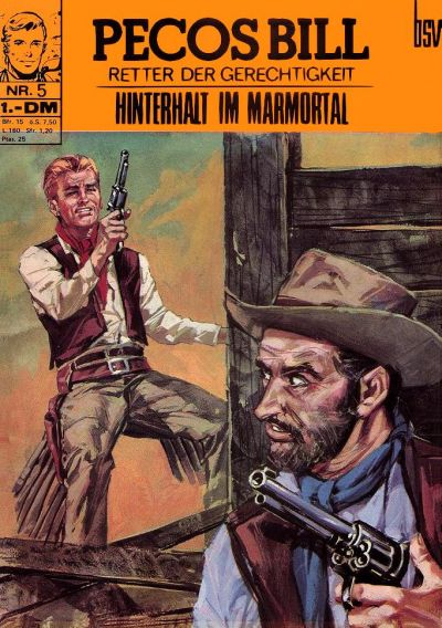Cover for Pecos Bill (1971 series) #5