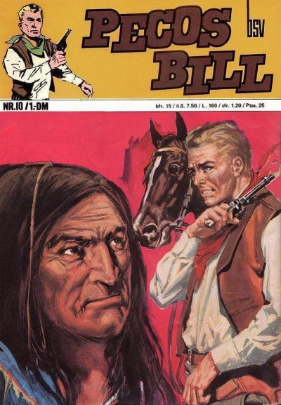 Cover for Pecos Bill (BSV - Williams, 1971 series) #10