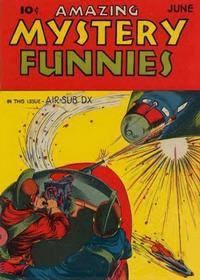 Cover Thumbnail for Amazing Mystery Funnies (Centaur, 1938 series) #v2#6