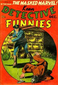 Cover Thumbnail for Keen Detective Funnies (Centaur, 1938 series) #v2#12