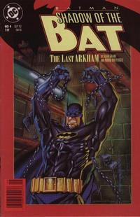 Cover for Batman: Shadow of the Bat (DC, 1992 series) #4 [Newsstand]