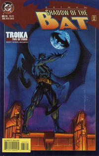 Cover Thumbnail for Batman: Shadow of the Bat (DC, 1992 series) #35 [Standard Edition]