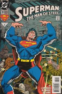 Cover Thumbnail for Superman: The Man of Steel (DC, 1991 series) #31 [Direct Edition]
