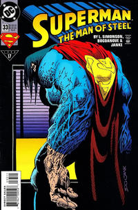 Cover Thumbnail for Superman: The Man of Steel (DC, 1991 series) #33