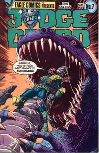 Cover Thumbnail for Judge Dredd (Eagle Comics, 1983 series) #7