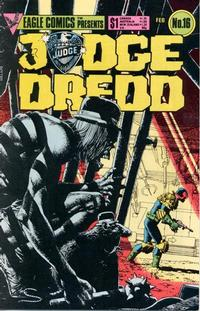 Cover Thumbnail for Judge Dredd (Eagle Comics, 1983 series) #16