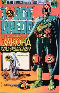 Cover Thumbnail for Judge Dredd (Eagle Comics, 1983 series) #23