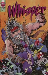 Cover Thumbnail for Whisper (First, 1986 series) #19