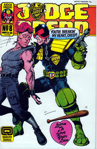 Cover Thumbnail for Judge Dredd (Fleetway/Quality, 1987 series) #8 (43)