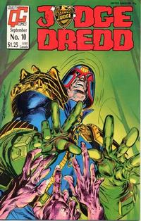 Cover Thumbnail for Judge Dredd (Fleetway/Quality, 1987 series) #10