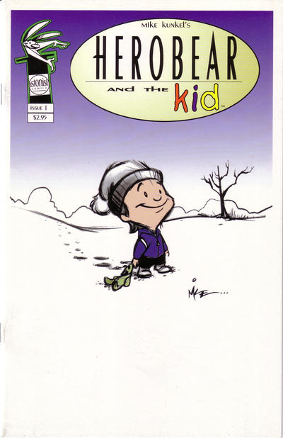 Cover for Herobear and the Kid (1999 series) #1 [2nd printing]