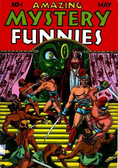 Cover for Amazing Mystery Funnies (Centaur, 1938 series) #v2#5