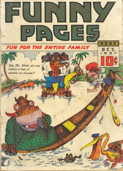 Cover for Funny Pages (Ultem, 1937 series) #v2#2