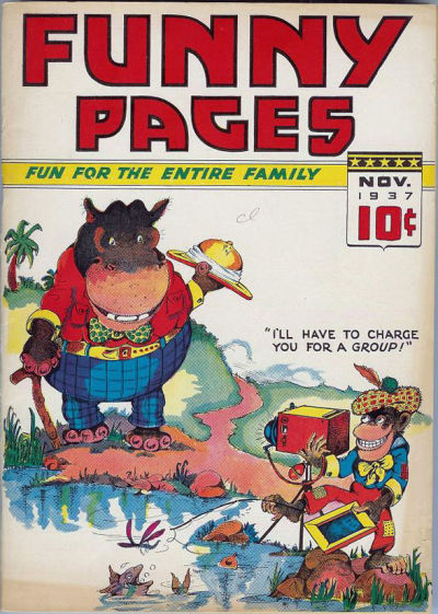 Cover for Funny Pages (Ultem, 1937 series) #v2#3